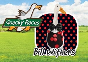 Bill Withers Quacky Races at Would of Country Life, Exmouth
