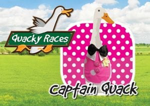Captain Quack Quacky Races at Would of Country Life, Exmouth