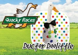 Ductor Doolittle Quacky Races at World of Country Life, Exmouth