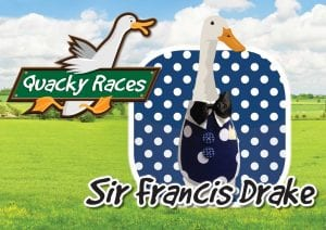 Sr Francis Drake Quacky Races at World of Country Life, Exmouth