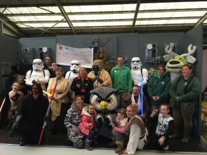 Star Wars Day at World of Country Life, Exmouth