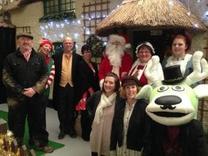 Visit Santa The Victorian Team at World of Country Life, Exmouth, Devon