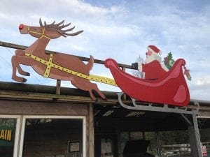 Santa's Deer Train Station