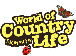 World of Country Life logo for Family fun day out in Rain or Shine Exmouth Devon