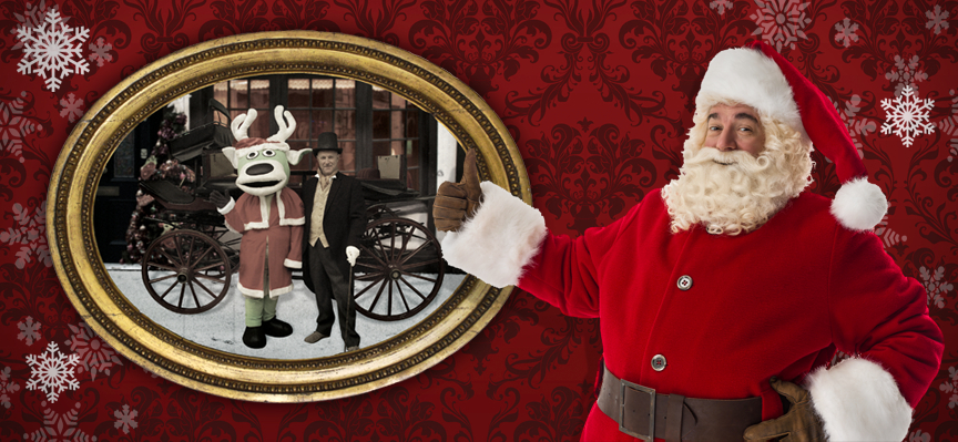 Visit Santa at World of Country Life, Exmouth, Devon