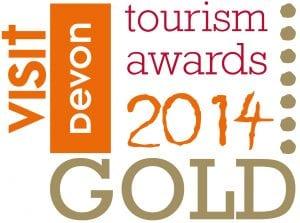 Visit Devon Tourism Awards GOLD 2014