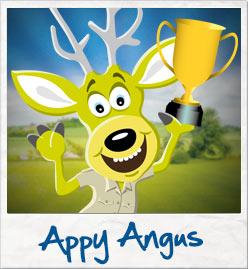 Appy Angus polaroid