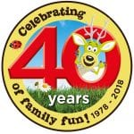 World of Country Life 40 years logo