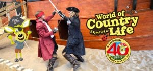 Pirate Fridays at World of Country Life, Exmouth, Devon