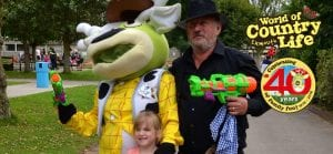 Wild West Wednesday at World of Country Life Exmouth Devon