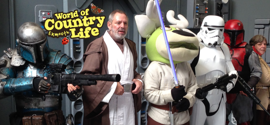 Star Wars Day 2019 at World of Country Life Exmouth Devon