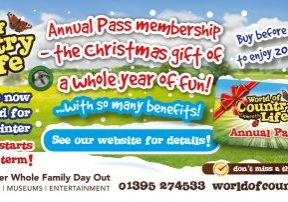 World of Country Life Annual Pass Christmas Gift