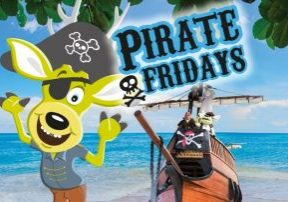 Pirate Fridays at World of Country Life Exmouth Devon
