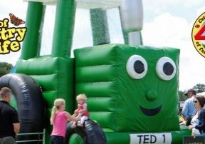 Tractor Ted at World of Country Life Exmouth Devon