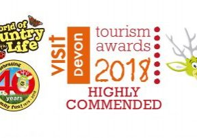 Visit Devon Award Highly Commended World of Country Life Exmouth Devon