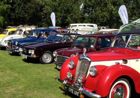 Vintage & Classic Vehicle Rally at World of Country Life, Exmouth, Devon